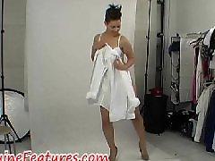 Photoshooting, Latex dress, Latex amateur, In dress, Hot dress, Dressed