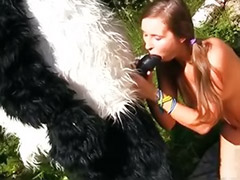 Teen panda, Teen fucked outdoor, Wood fuck, Panda fuck, Panda fucking, Panda