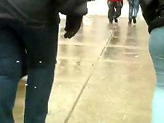 Bbw, Voyeur, Jeans, Chubby