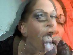 Lady k, Lady, Facial cumshots, German lady, German facials, German facial