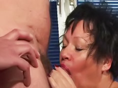 Pierced, Piercing, Mature blowjob