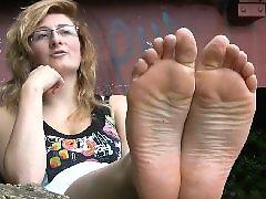 کف پای دختر, پاh, فتیش پا