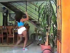 Shaking, Shaking booty, Shake booty, Shake ass, Latin ass, Ebony booty