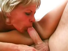 Threesome mature blowjob cum, Mature threesome blowjob, Mature and sex