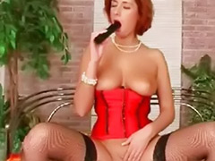 Stockings fingering, Redheads fingering, Redhead solo fingering, Redhead fingering solo, Redhead fingering, Stockings fingering solo