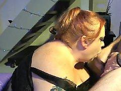Vibratoring, Vibrator, Vibrate, Redhead amateur, Sexy milf blowjob, Sexy milf