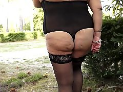 Walk, Walking, Public bbw, Public nudity, Public mature, Mature public