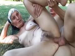 Farmers, Farmer anal, Grandmas, Grandma blowjob, Grannie cums, Granny,anal