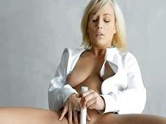 Solo snatch, Snatch, Dildo solo masturbation, Blonde dildo solo, Blonde solo dildo
