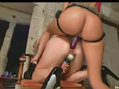 Lesbiennes-anal, Anal toying lesbiens