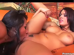 Theree, Licking ares, Lesbian babe sex