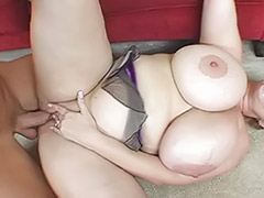 Titfuck cum, Titfuck blowjob, Threesome tits, Threesome brunette, Bbw sex, Titfuck blowjob threesome