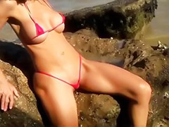 Sonya, Solo models, Solo beach, Model solo, Outdoor beach, Beach solo girl