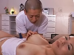 Asian mature masturb