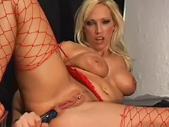 Solo girl anal dildo, Riding dildo