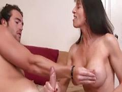 Big tits masturbation