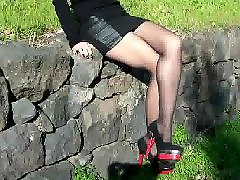 Stocking, Amateur, Heels
