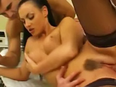 Two tits, Two tit, Tit fuck threesome, Hospiter, Fuck hospital, Uniform anal