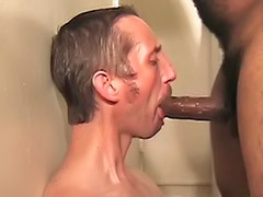 Pierced gay, Pierced dick, No cum, Masturbation cum dick, Interracial gay bareback, Interracial gay anal