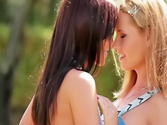 Öother lesbian, Öother, Shaved outdoor, Romantıc, Romantic lesbians, Romantes