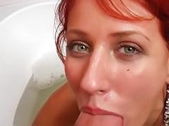 Redhead bathroom, Sex in the bathroom, Sex in bathroom, Fuck in bathroom, Blow jobs, Bathroom fucked