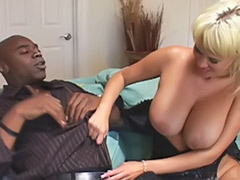 Black and milf, Tits licked, Stocks blowjob, Stockings lick, Stockings interracial, Stockings heels cum
