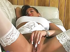 Stockings solo, Squirt solo, Solo milf