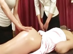Threesome massage, Massages lesbian, Massager japanese, Subtitled, Subtitle, Massages japanese