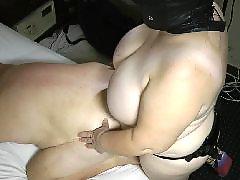 Strap on, Bbw anal