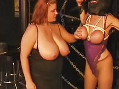 Lesbian bondage, Bbw lesbian