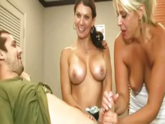 Step mom, Mom handjob