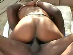 Veronica, Shags, Shagging, Hot ebony, Ebony rimming, Ebony rim