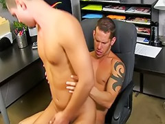 Tattoo asshole, Pumping, Pumped, Pump anal, Lovely guy, Gays office