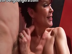 Two matures blowjob, Two bbw, Two matures, Two mature, Takes two, Redhead double penetration