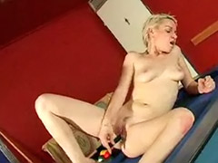 Table solo, Piercings girl, Pool masturbating, Solo pool, On table, Nelly