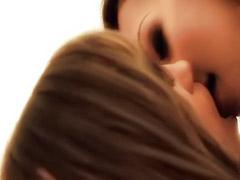 Sex scene masturbating, Lesbian scene
