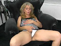 Mother, Hairy, Mature, Mature masturbation