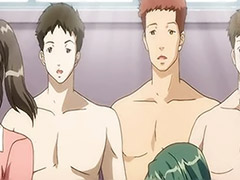 Swimsuite tits, Swimsuite, Huge tit group, Anime huge tits, Anime group, Swimsuit