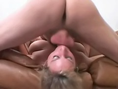 Rims ass, Rimming ass, Mature cum, Mature blonde blowjob, Ass licking rimming, Rimming couple