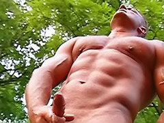 Public sex show, Public guy, Muscle group, Muscle gay cum, Woods anal, Public outdoor anal