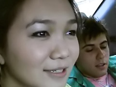 Teen car sex, Teen car blowjob, Teen car, Russian car, Russian bang, Russian asian