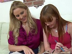 Teen threesome, Julia ann