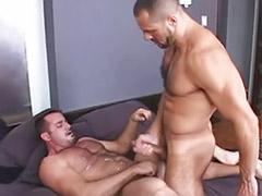 Musculosos gay parejas, Follar musculosas