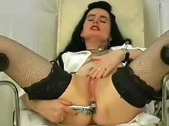 Vaginal speculum, Work solo, Stockings solo anal, Stockings anal solo, Stocking anal solo, Speculums