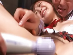 Threesome cute, School threesome, School japanese, School girl japanese, School girl asian, School fuck