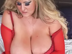 Red toy, Red girl, Red milf, Solo milf blonde, Solo lady, Solo blonde milf