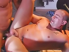 That ass, Pumping cum, Pumped ass, Pump cum, Pump anal, Gym gay