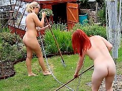 Two slave, To work, Work, Working, Slave bdsm, ضربوحبل واطواق slave