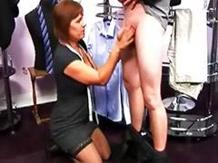 Seamstress, Cfnm handjob