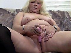 Herself, Masturbation granny, Mature herself, Mature blond, Loves big, Love masturbating